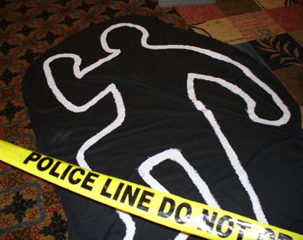 Dead-Body-Outline